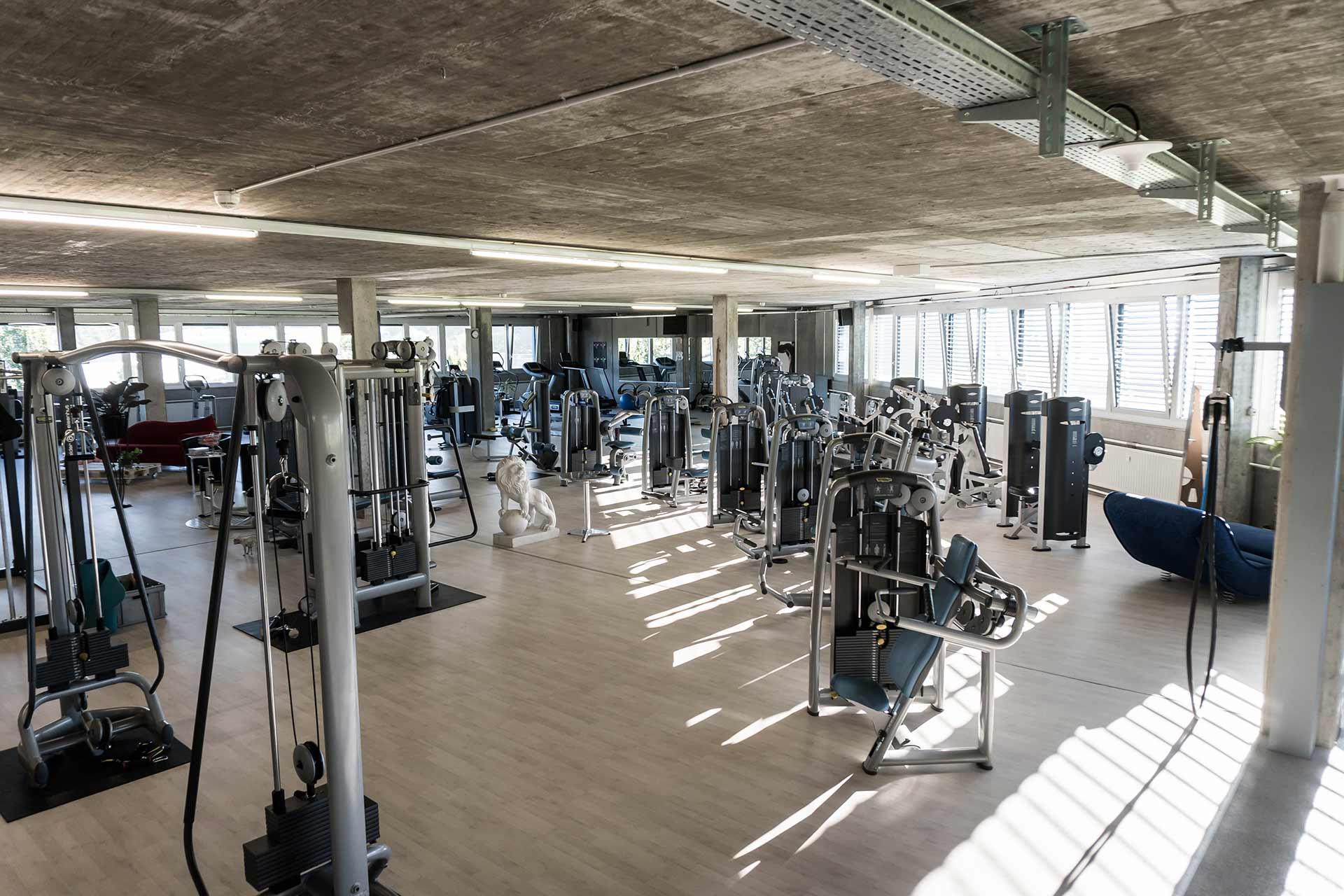 Wolfs Gym Aarberg Lyss Bern Fitness Geräte
