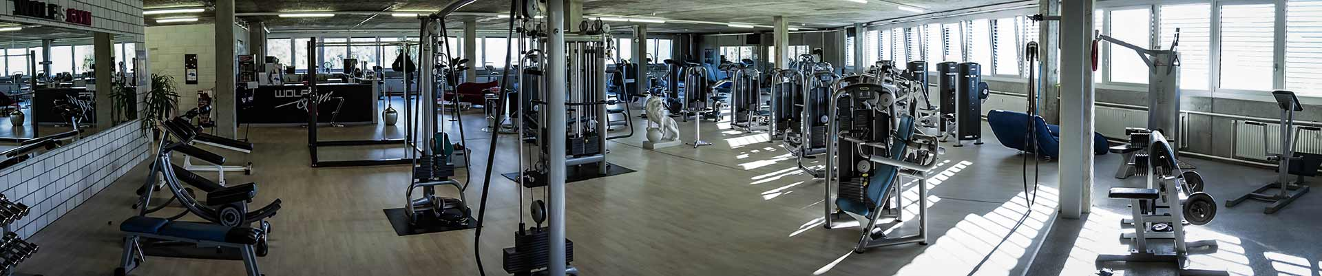 Wolfs Gym Aarberg Lyss Bern Fitness Studio